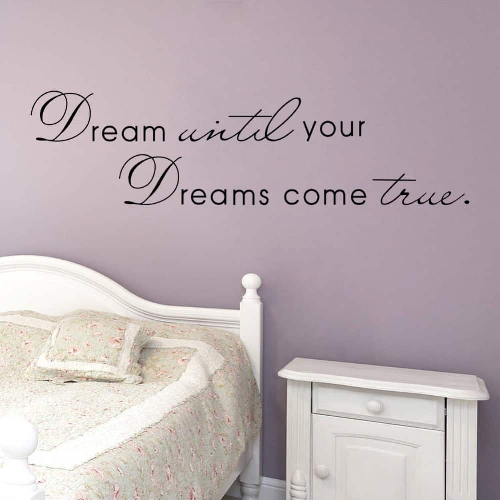 Inspiring Quotes Frames For Your Bedroom Wall