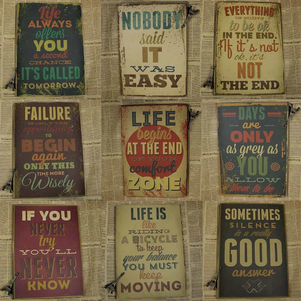 Top 50 Inspiring Quotes Frames And Stickers For Your Bedroom Wall